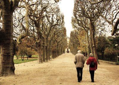 Couple qui marche
