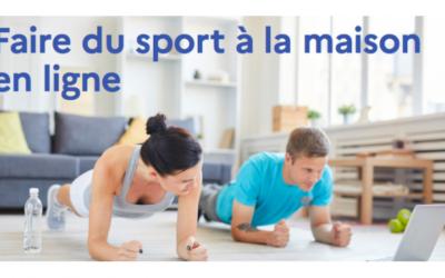 Avec le ministère des Sports, faites du sport chez vous !