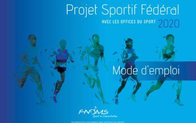 FNOMS – Campagne Projet Sportif Fédéral 2020