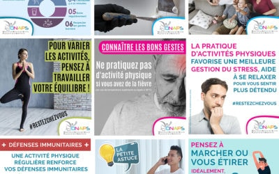 Des outils pour promouvoir l'activité physique en période de confinement
